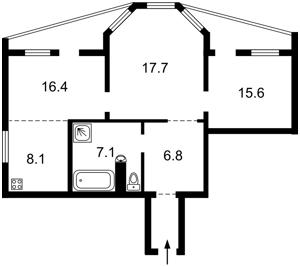 Квартира B-93271, Гордиенко Костя пер. (Чекистов пер.), 1а, Киев - Фото 3