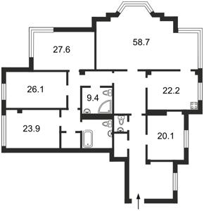 Квартира J-22480, Грушевского Михаила, 9а, Киев - Фото 5