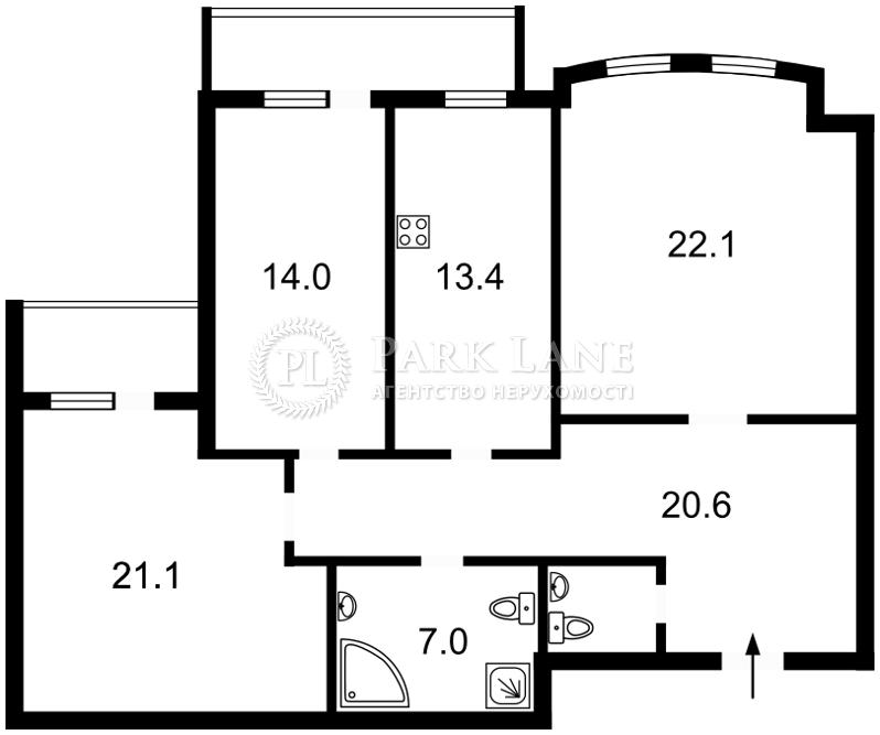Квартира ул. Гоголевская, 43, Киев, Z-1761000 - Фото 2