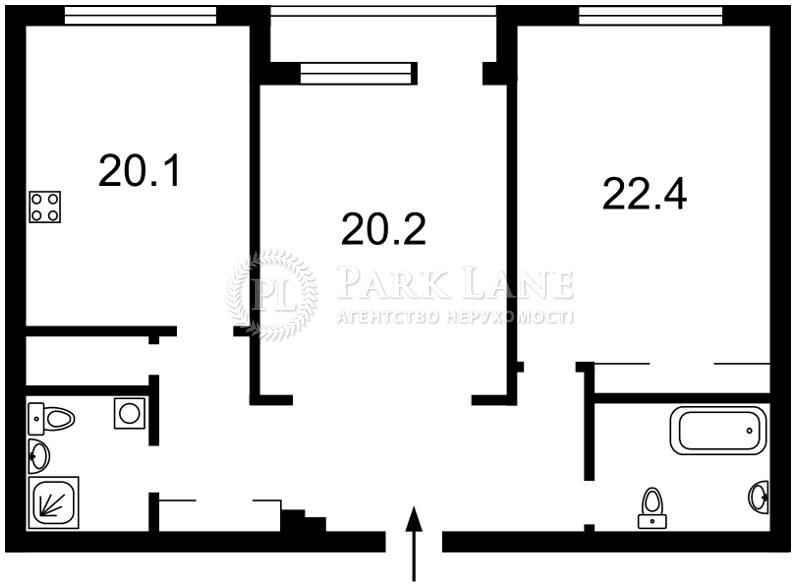 Квартира ул. Зверинецкая, 59, Киев, N-17018 - Фото 2