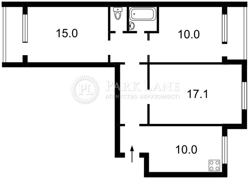 Квартира ул. Старокиевская, 8/12, Киев, Z-730641 - Фото 2