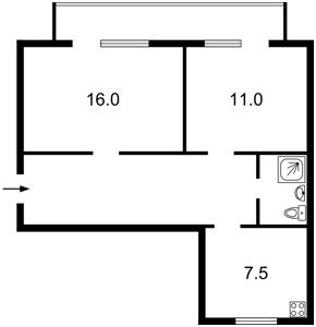Квартира B-58475, Драгомирова, 6б, Київ - Фото 4