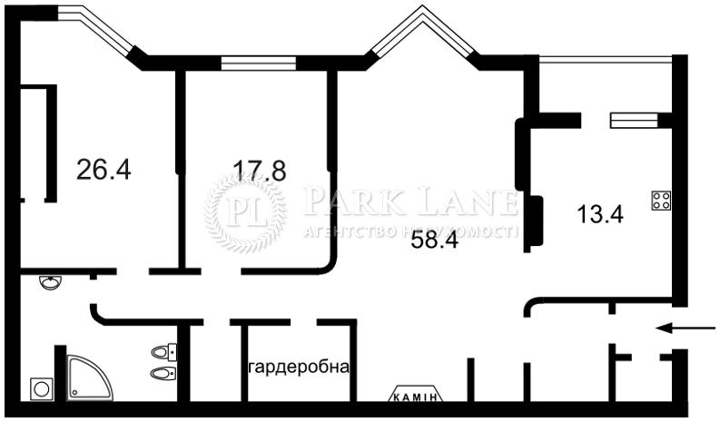 Квартира вул. Коновальця Євгена (Щорса), 32г, Київ, Z-1854846 - Фото 2