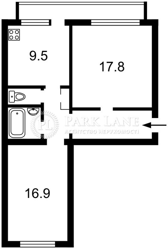 Квартира ул. Саксаганского, 92/94, Киев, X-5844 - Фото 2