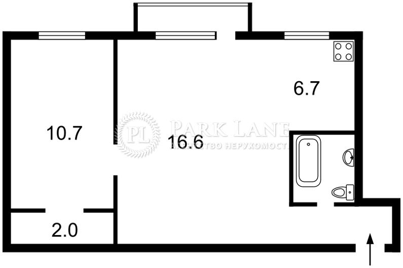 Квартира Победы просп., 2, Киев, X-36053 - Фото 2