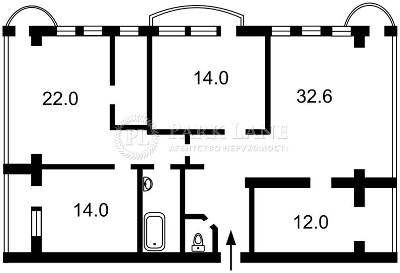 Квартира ул. Тургеневская, 46/11, Киев, B-93122 - Фото 2