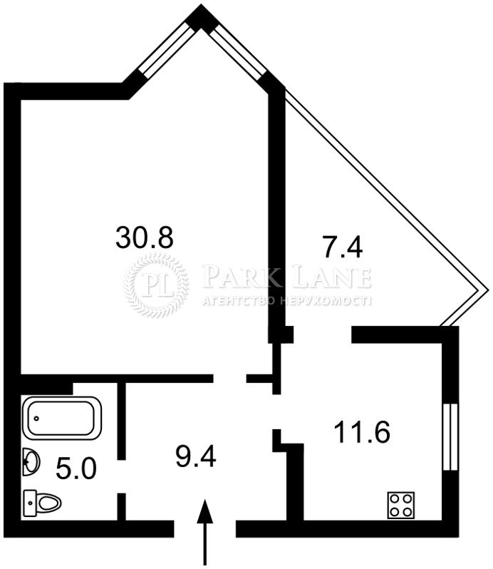 Квартира ул. Саперно-Слободская, 22, Киев, K-23119 - Фото 2