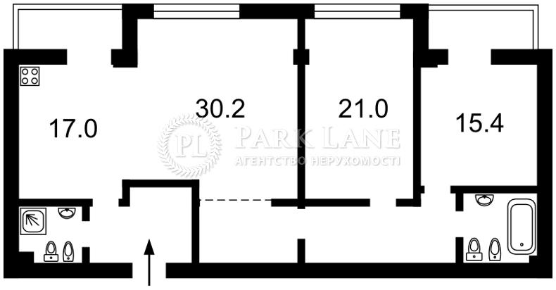 Квартира ул. Круглоуниверситетская, 3/5, Киев, K-23203 - Фото 2