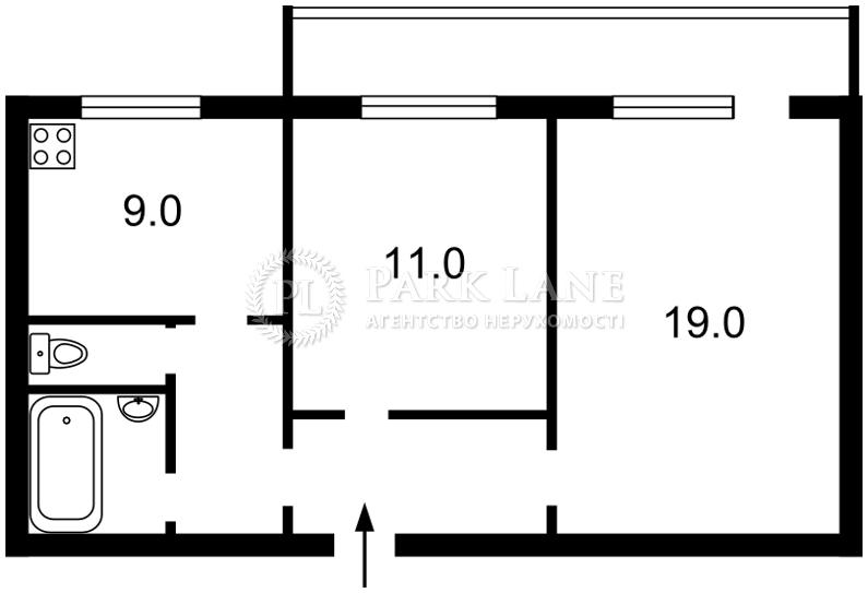 Квартира Z-1191613, Закревского Николая, 63, Киев - Фото 5