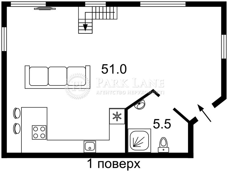 Будинок вул. Петропавлівська, Київ, Z-1883652 - Фото 2