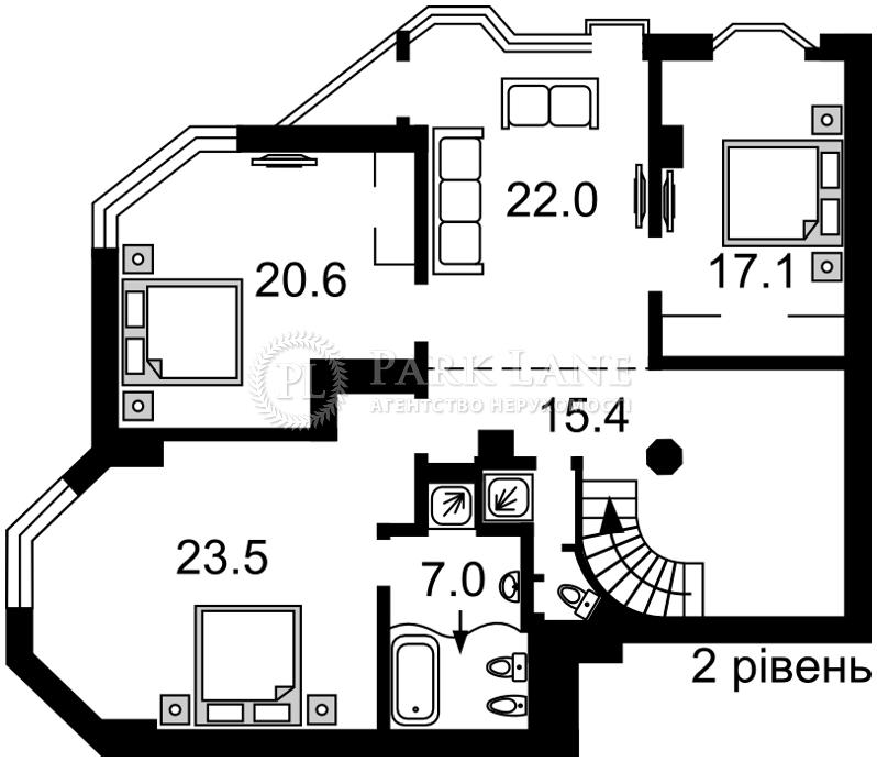 Квартира Кловский спуск, 5, Киев, Z-381562 - Фото 3