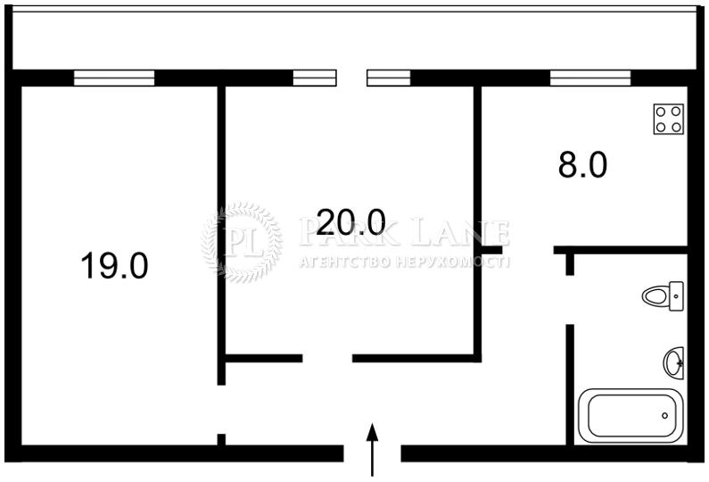 Квартира ул. Крещатик, 25, Киев, Z-711171 - Фото 2