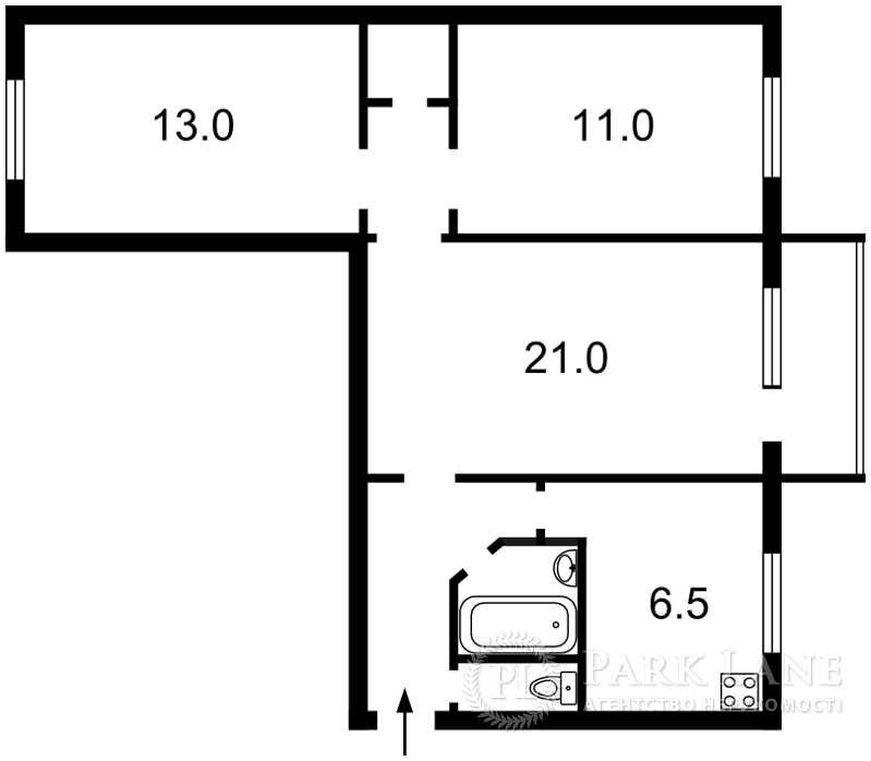 Квартира ул. Дегтяревская, 58, Киев, X-35563 - Фото 2