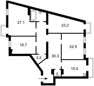 Квартира J-23009, Большая Житомирская, 25/2, Киев - Фото 3