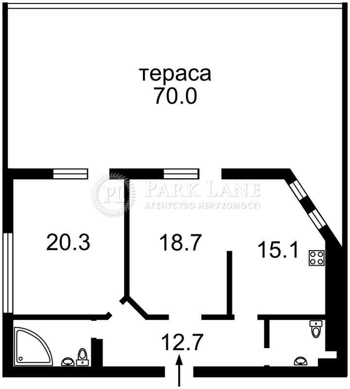 Квартира ул. Нагорная, 15, Киев, B-93137 - Фото 2