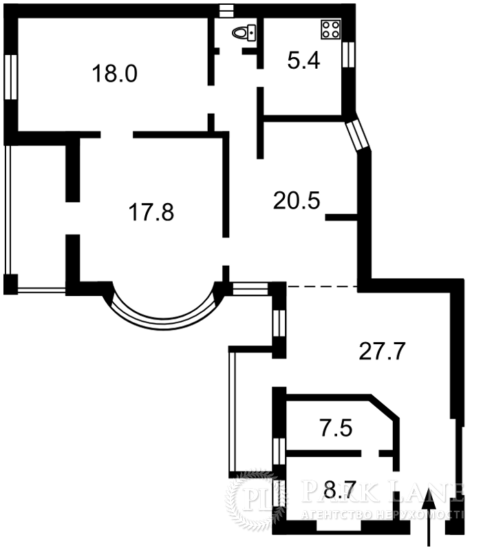 Квартира R-13, Костьольна, 8, Київ - Фото 4