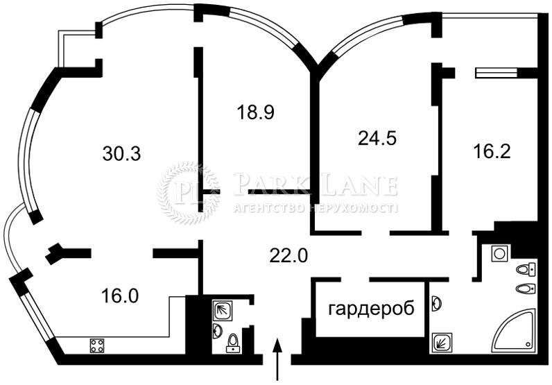Квартира ул. Механизаторов, 2а, Киев, Z-225361 - Фото 2