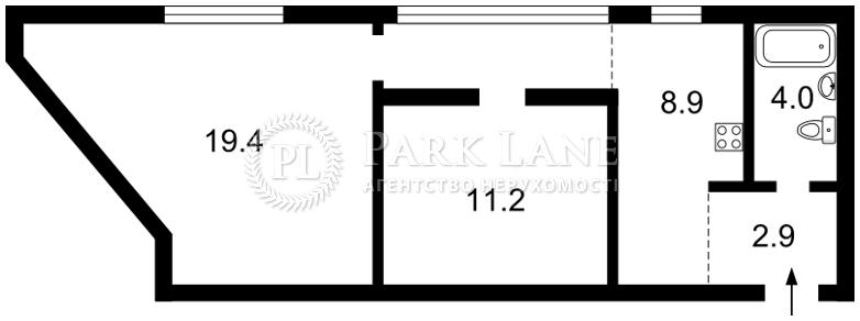 Квартира ул. Межигорская, 32, Киев, C-51178 - Фото 2