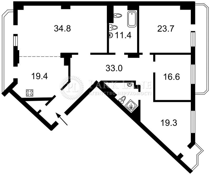 Квартира ул. Тургеневская, 44, Киев, K-23796 - Фото 2