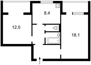 Квартира B-81850, Драгоманова, 23а, Киев - Фото 3