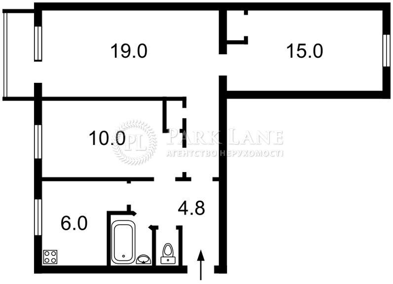 Квартира вул. Червоноткацька, 17, Київ, I-18667 - Фото 2