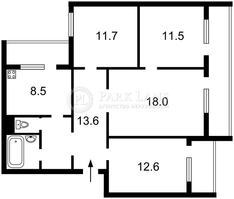 Квартира Z-1734729, Єфремова Академіка (Уборевича Командарма), 21, Київ - Фото 2