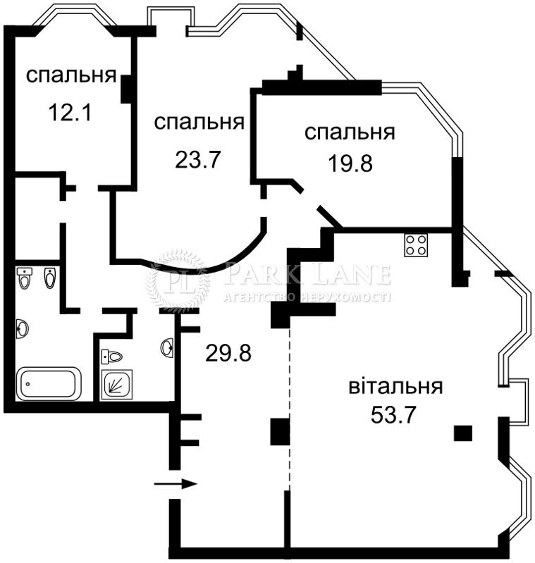 Квартира Кловский спуск, 5, Киев, R-1852 - Фото 2