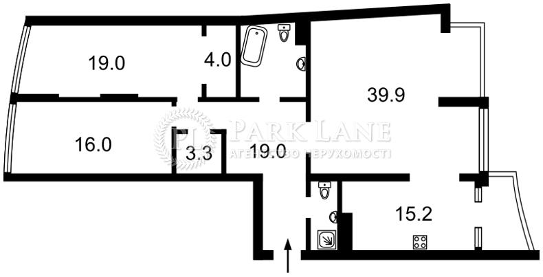 Квартира K-23876, Парково-Сырецкая (Шамрыло Тимофея), 4в, Киев - Фото 7
