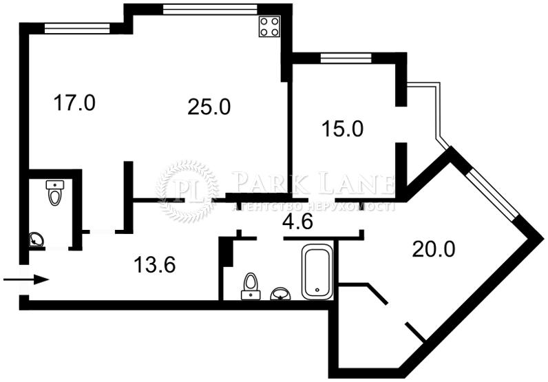 Квартира ул. Княжий Затон, 21, Киев, R-1571 - Фото 2