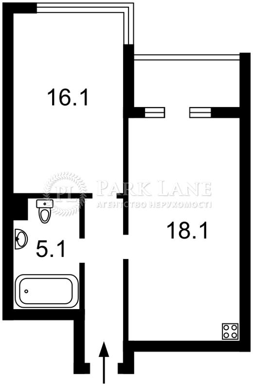 Квартира ул. Джона Маккейна (Кудри Ивана), 7, Киев, Z-35203 - Фото 2