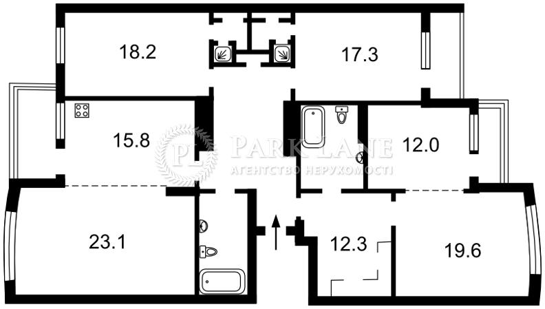 Квартира B-93660, Голосеевская, 13б, Киев - Фото 6