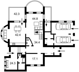 Дом I-25679, Старокиевская, Козин (Конча-Заспа) - Фото 3