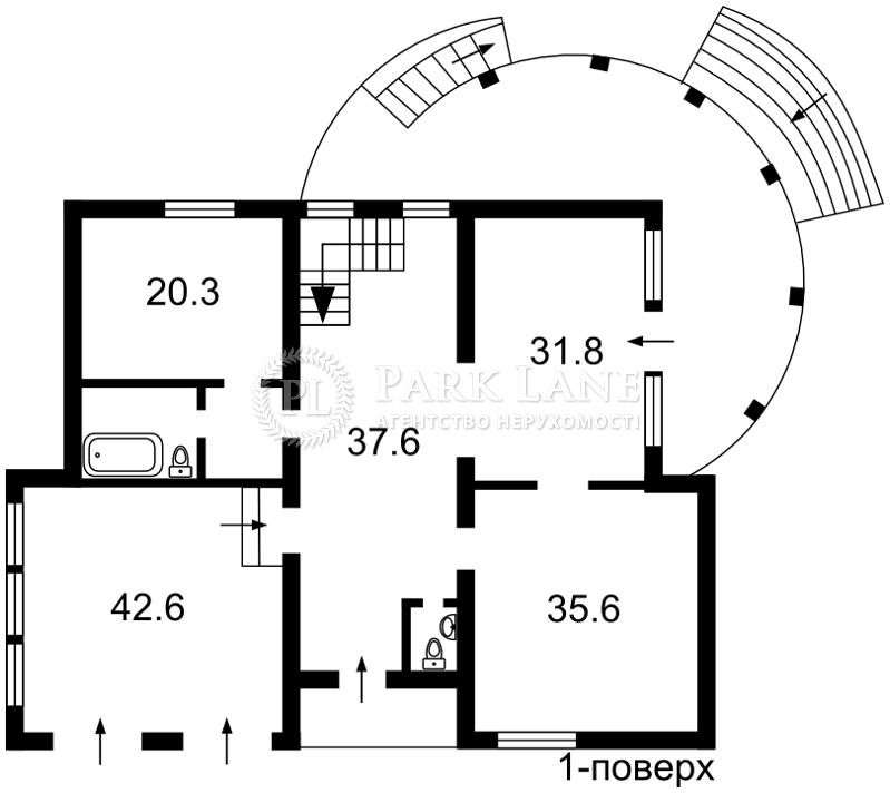 Дом ул. Пожарского (с.Троещина), Киев, R-2334 - Фото 3