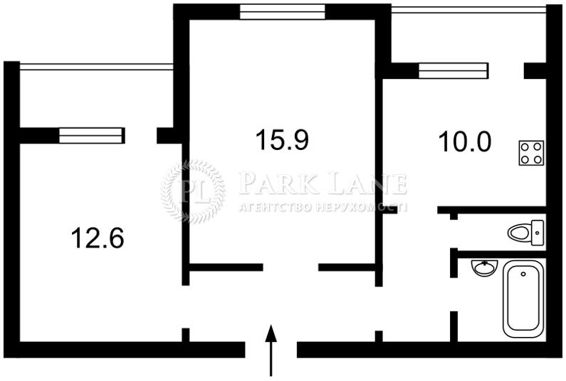 Квартира Z-1873771, Бажана Николая просп., 9д, Киев - Фото 4