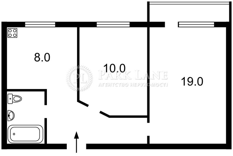 Квартира ул. Сечевых Стрельцов (Артема), 59/65, Киев, G-4961 - Фото 2