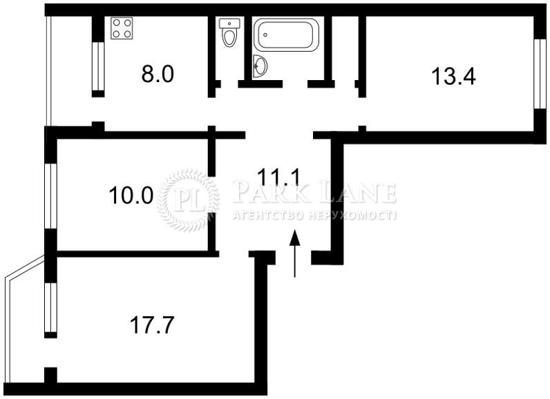 Квартира X-34935, Драгоманова, 20, Киев - Фото 4