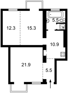 Квартира L-23864, Коновальця Євгена (Щорса), 23, Київ - Фото 3