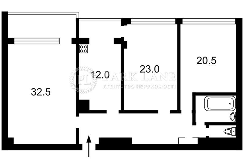Квартира вул. Хмельницького Богдана, 39, Київ, X-14074 - Фото 2