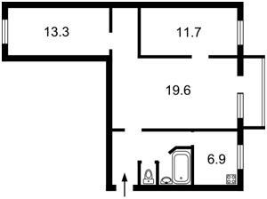 Квартира N-5356, Шолуденко, 16, Киев - Фото 2