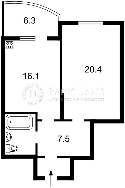Квартира ул. Драгоманова, 40ж, Киев, X-36074 - Фото 2