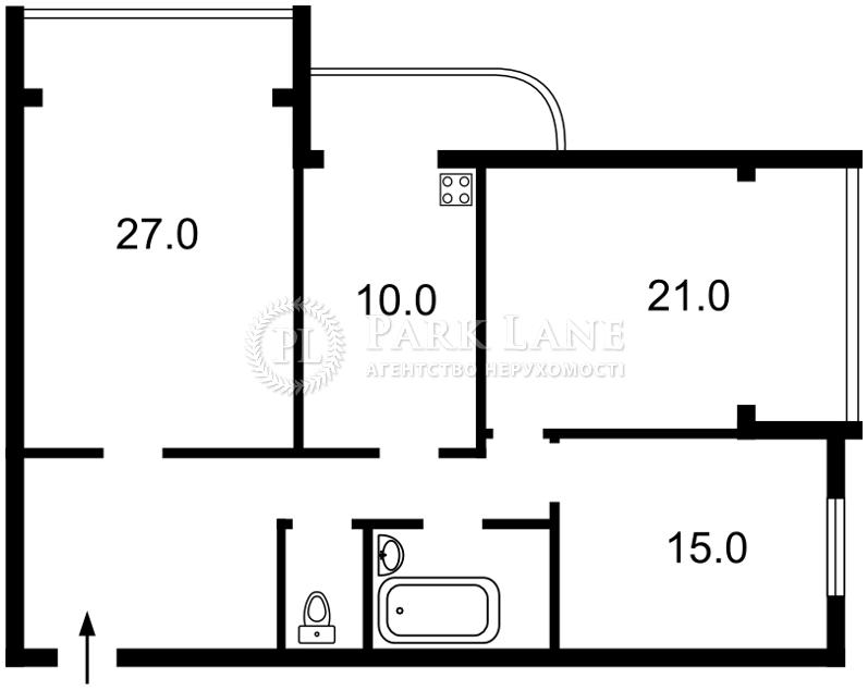 Квартира Дарницкий бульв., 3а, Киев, Z-76234 - Фото 2