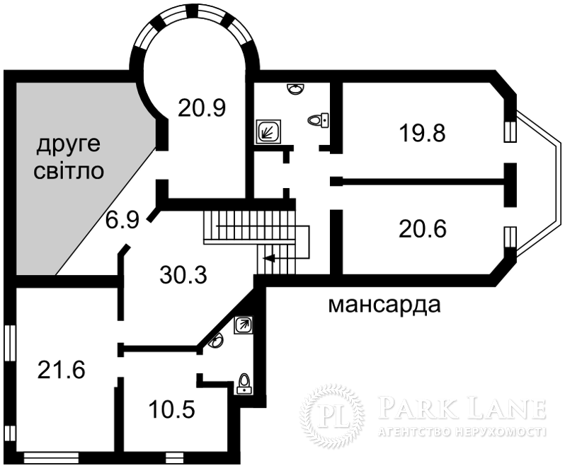 Дом X-32853, Петровское (Бориспольский) - Фото 4