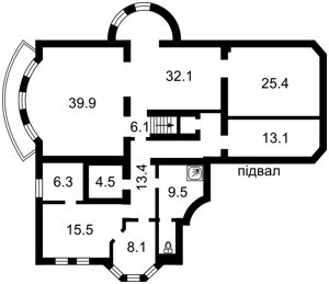 Дом X-32853, Петровское (Бориспольский) - Фото 5