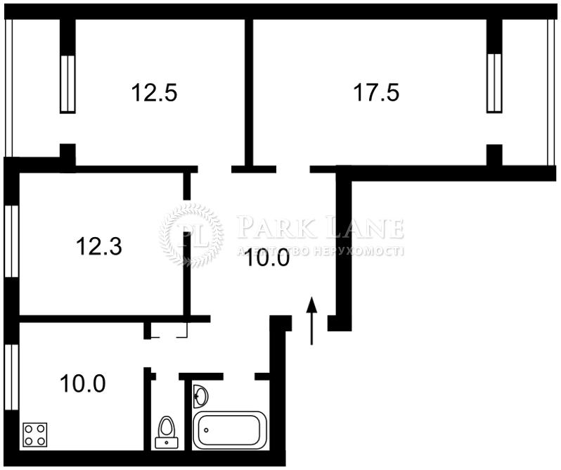 Квартира Оболонский просп., 45/28, Киев, L-11128 - Фото 2