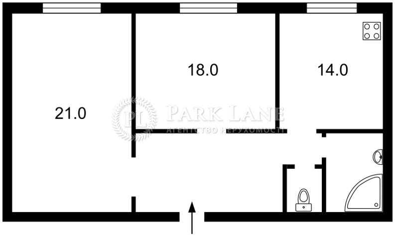 Квартира ул. Круглоуниверситетская, 11/19, Киев, X-20526 - Фото 2
