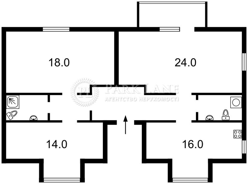 Квартира ул. Ватутина, 15, Вишневое (Киево-Святошинский), J-23420 - Фото 2