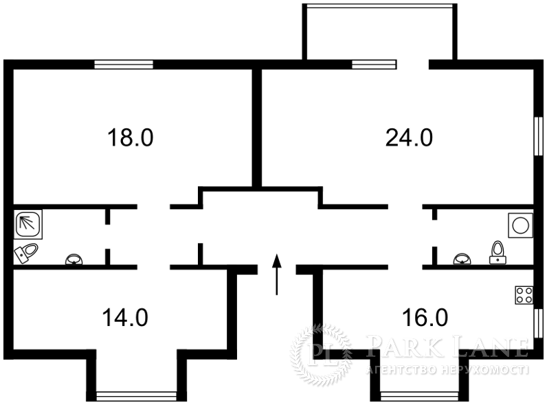 Квартира J-23420, Ватутіна, 15, Вишневе (Києво-Святошинський) - Фото 2