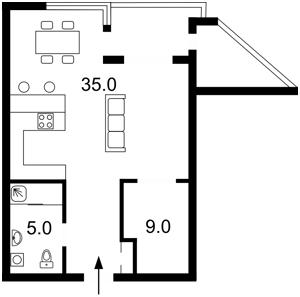 Квартира N-14729, Коновальца Евгения (Щорса), 32в, Киев - Фото 4