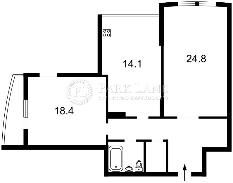 Квартира ул. Голосеевская, 13а, Киев, Z-967360 - Фото 2