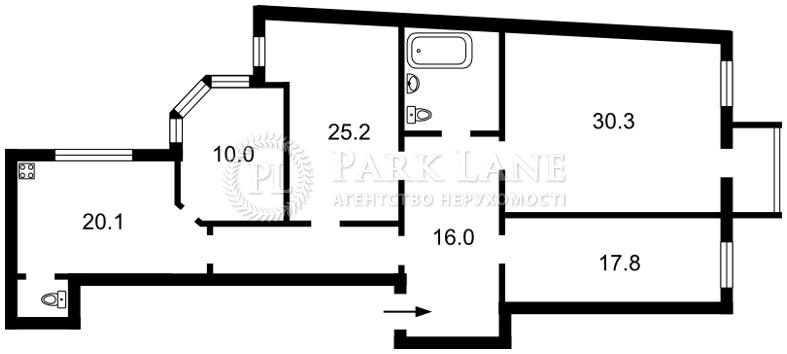 Квартира ул. Антоновича (Горького), 10, Киев, E-14530 - Фото 2